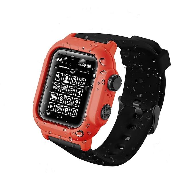 Per Apple  iWatch Apple Watch Serie 6 / SE / 5/4 44 mm / Apple Watch Serie  6 / SE / 5/4 40mm / Apple Watch Serie  3/2/1 42 mm Silicone Proteggi Schermo Custodia per Smartwatch  Compatibilità 40 mm