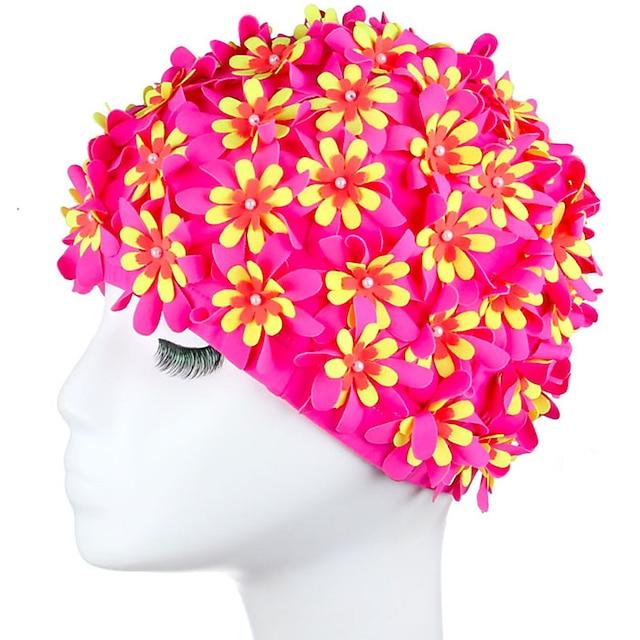 Bonnets de Bain pour Nylon Adultes Natation Respirabilité Confortable Durable