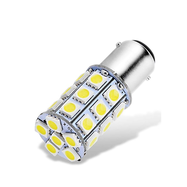 4本 車載 LED フォグライト ナンバーランプ ウィンカー 電球 SMD 5050 2.5 W 6000-6500 k 27 用途 ユニバーサル 全年式