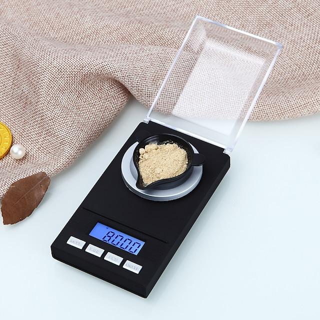 0.005g-50g digitale precisie elektronische schaal laboratorium medische balans lcd-scherm draagbare sieraden weegschalen gram gewicht schaal