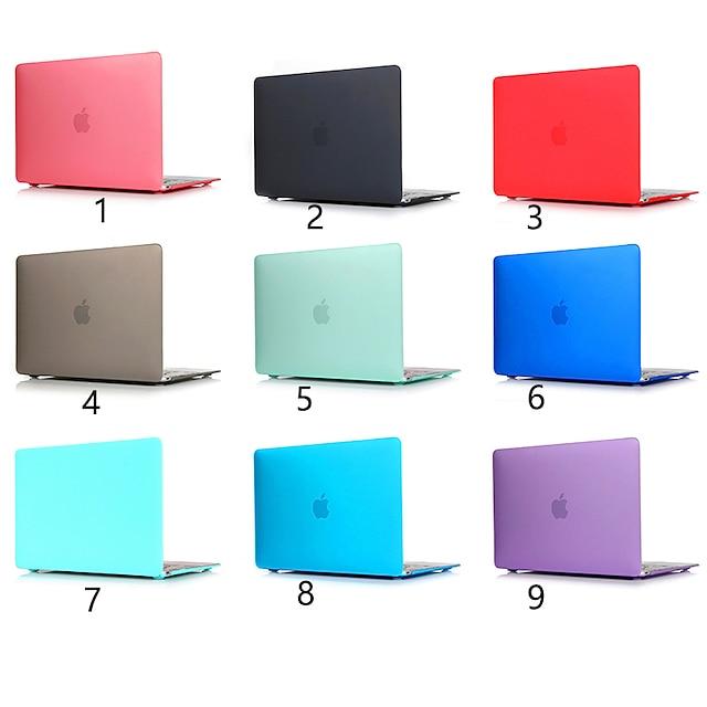MacBook Custodia Tinta unita PVC per MacBook Air 13 pollici / Per Nuovo MacBook Pro 13'' / New MacBook Air 13