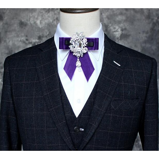 Men's / Boys' Party Bow Tie - Solid Colored