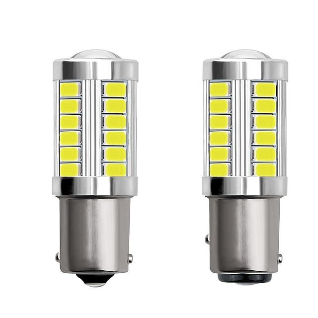2 pz 1156 ba15s 1157 bay15d auto ha condotto le lampadine 4 w 12 v smd 5730 33 led indicatori di direzione luci luci di coda luci dei freni luci stop