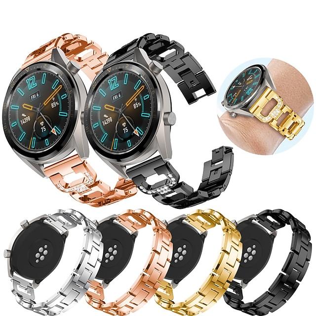 Pametni sat za gledanje za Huawei 1 pcs Sportski remen Dizajn nakita Nehrđajući čelik Zamjena Traka za ruku za Huawei Watch GT Watch 2 Pro