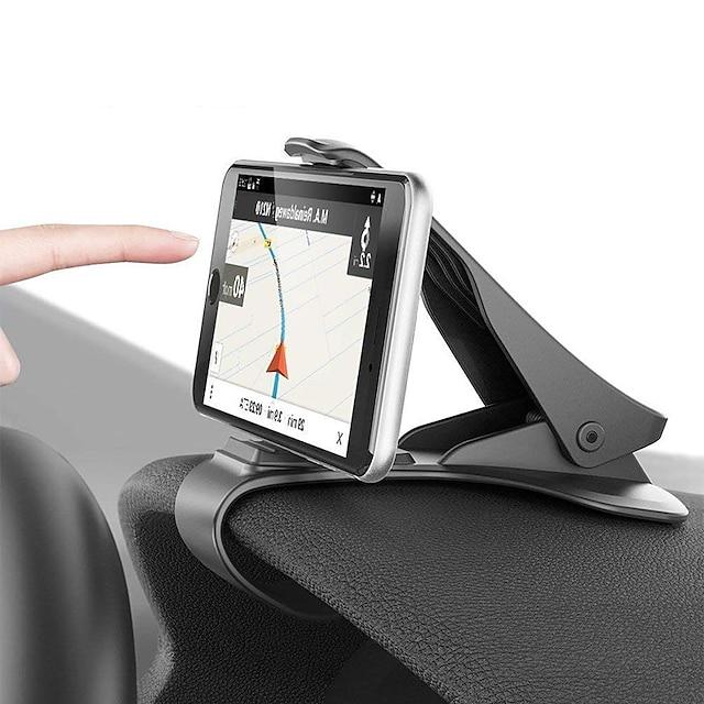 Βάση και στήριξη τηλεφώνου Αυτοκίνητο Xiaomi MI Samsung Apple HUAWEI Εξάρτημα εξαγωγής αέρα Ταμπλό Περιστροφή 360° Τύπος πόρπης Δημιουργικό Νεό Σχέδιο Κεντρική κονσόλα οχήματος ABS