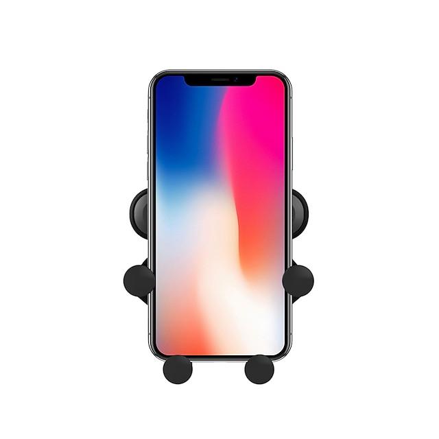 מעמד לטלפון מכונית Xiaomi MI סמסונג Apple HUAWEI אייר גריל סוג אבזם סוג הכבידה סוג יציאה פלסטיק קשיח אביזר לשיחת טלפון iPhone 12 11 Pro Xs Xs Max Xr X 8 Samsung Glaxy S21 S20 Note20