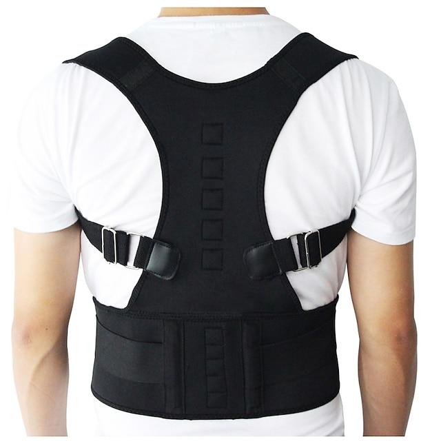 Male Female Posture Corrector Belt Magnetic Posture Corrector Brace Shoulder Back Support Belt Kit Improve Shoulder