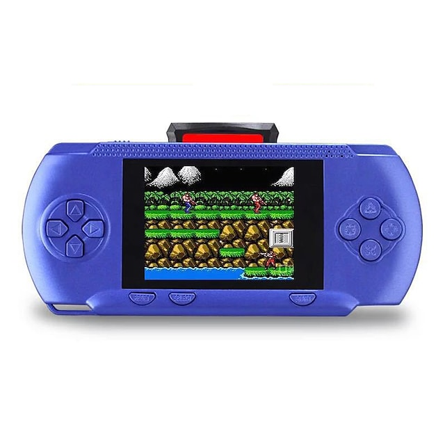 300 Games in 1 Handheld Game Player Game Console Rechargeable Mini Handheld Pocket Portable Support TV Output 2 Players Classic Theme Retro Video Games with 3.2 inch Screen Kid's Adults' All Toy Gift