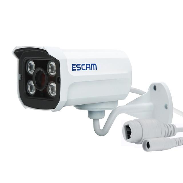 ESCAM QD300 Luodin Johto PoE Vedenkestävä Liiketunnistus PoE Ulkona Tuki / CMOS / 2 / 50 / 60 / Dynaaminen IP-osoite