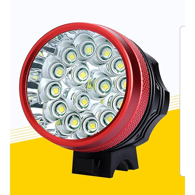 LED Bike Light Front Bike Light LED Mountain Bike MTB Bicycle Cycling Waterproof Super Bright Safety Portable Rechargeable Battery 18650 11200 lm Rechargeable Batteries 110-240V 18650 lithium battery