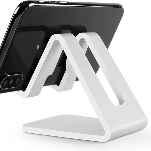 hvit plastholder for bok / pute / telefon kontor verktøy