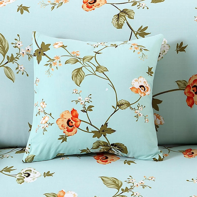 1 stk dekorativt putetrekk deksel putetrekk til sengesofa 18 * 18 tommer 45 * 45 cm
