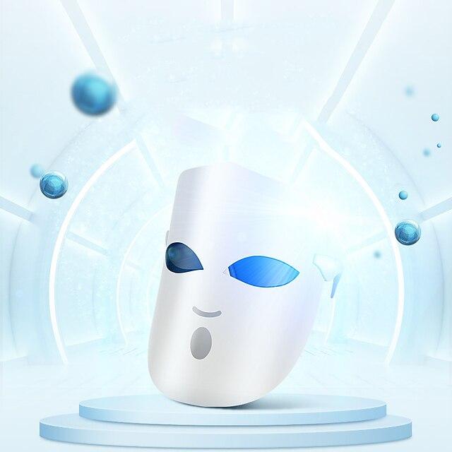 K-SKIN KD036 Photon LED Facial Mask Face Mask Light Therapy Skin Rejuvenation Skin Care Anti Acne Wrinkle Removal Massage 3 Colors