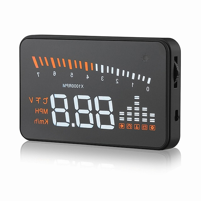pantalla gps velocímetro obd2 interfaz x5 3 proyecto de parabrisas automóvil digital velocímetro automóvil