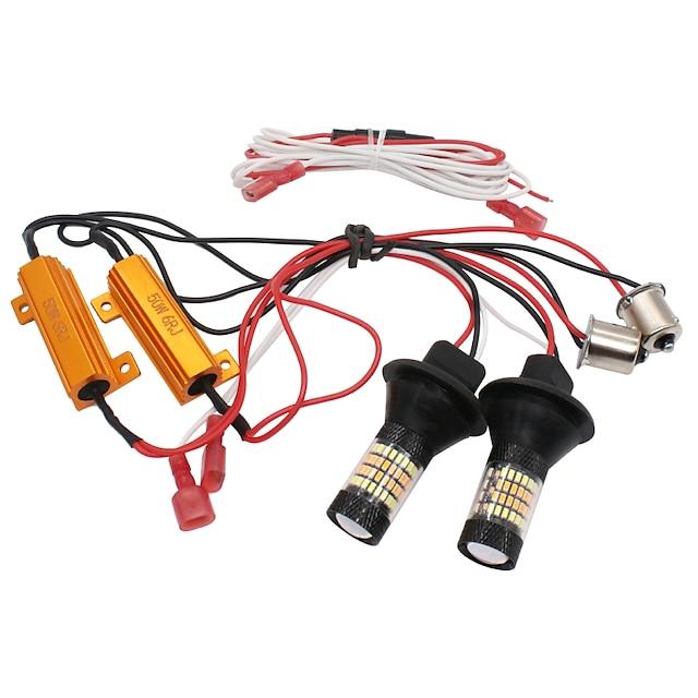Auto LED Luce di posizione / Luce di svolta BAU15S Lampadine Per Volkswagen / Toyota / Honda Tutti gli anni 2 pezzi
