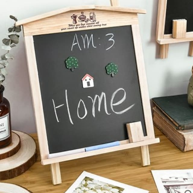 Decorative Objects, Wood Modern Contemporary for Home Decoration Gifts 1pc
