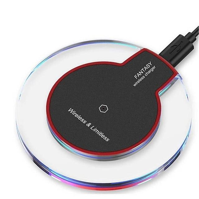 Încărcător Wireless Pentru Apple iPhone 12 11 pro SE X XS XR 8 Samsung Glaxy S21 Ultra S20 Plus S10 Note20 10 Airpods 1/2 / Pro Παγκόσμιο Încărcător Wireless