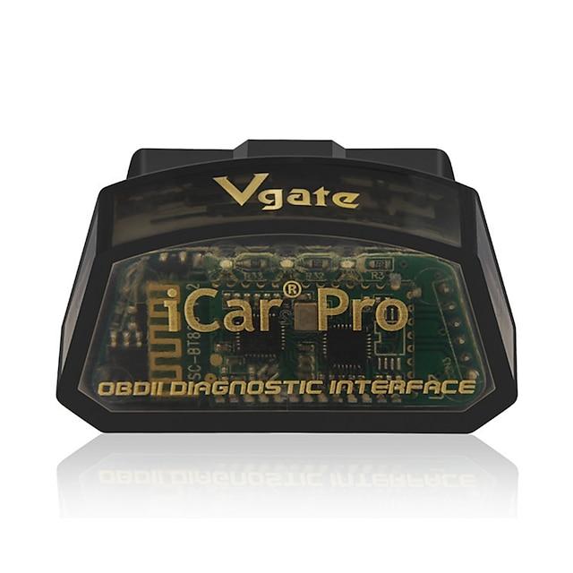 Scanner vgate icar pro bluetooth 4.0 / wifi obd2 pour outil de diagnostic de voiture android / ios elm327 v2.1 lecteur de code bluetooth icar pro