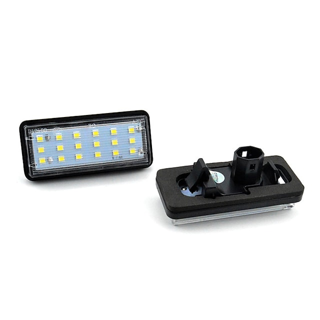 2 stks / set LED Nummer Kentekenverlichting Kit Foutvrij voor Lexus LX470 GX470 Toyota Land Cruiser Auto