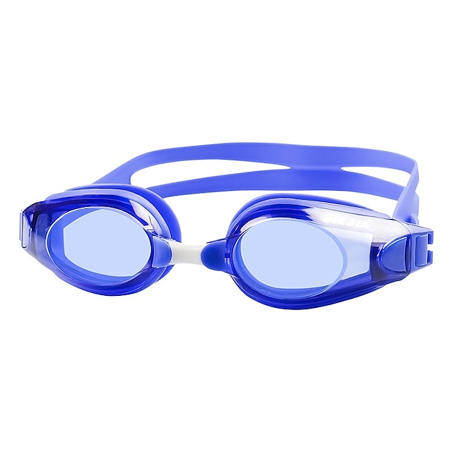 Lunettes de natation Etanche Antibrouillard Protection UV Miroir Plaqué Pour Adulte Le gel de silice Polycarbonate Blanc Noir Bleu Vert Noir Bleu