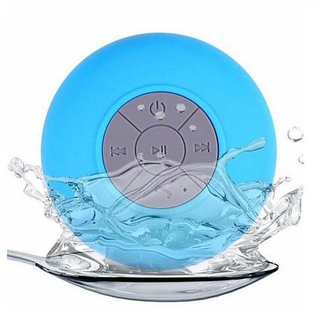 Waterproof Wireless Mini Speaker BTS-06 Subwoofer Bluetooth Speaker Stereo Shower with Sucker Music Audio Receiver Phone