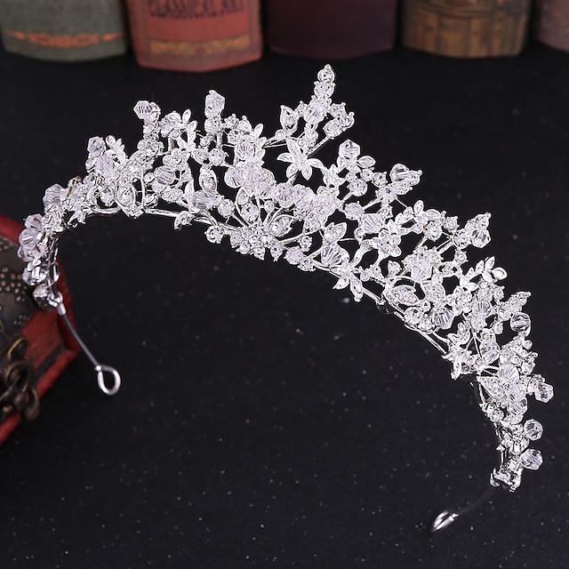 라인석 / 합금 티아라 와 크리스탈 / 라인석 1개 결혼식 투구
