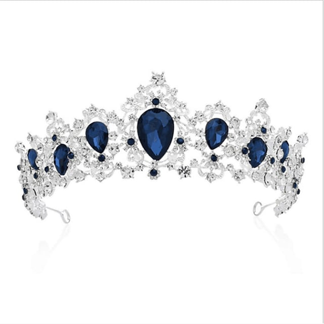 Crystal / Alloy Crown Tiaras with Crystal / Crystals 1 PC Wedding / Special Occasion Headpiece