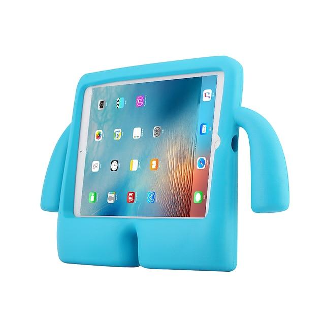 teléfono Funda Para Apple Funda Trasera Ipad aire iPad 4/3/2 iPad Air 2 Antigolpes con Soporte Un Color Gel de Sílice ordenador personal