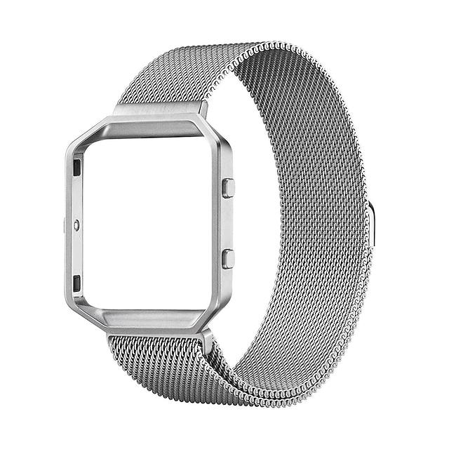 Correa de Smartwatch para Fitbit 1 pcs Correa Milanesa Acero Inoxidable Reemplazo Correa de Muñeca para Fitbit Blaze