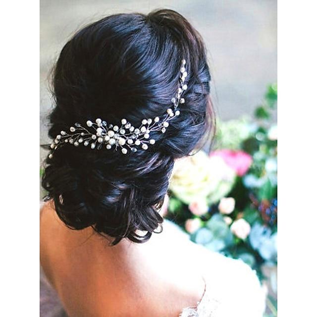 Imitation Pearl Hair Combs with Imitation Pearl 1 PC Wedding Headpiece