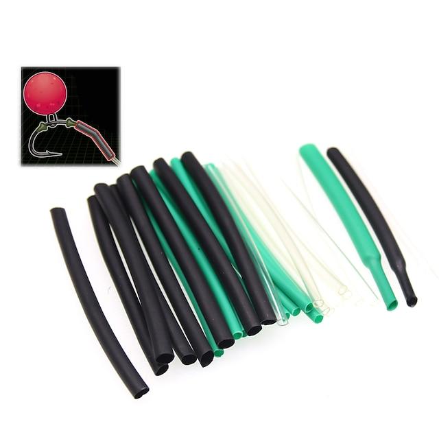 낚시 실리콘 튜브 6 pcs 낚시 견고함 컬러풀 소프트 플라스틱 민물 낚시 잉어 낚시 일반적 낚시
