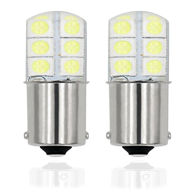 2 pz / lotto 1156 p21w led ba15s led 5050 12smd auto lampadine a led lampada a led per indicatore di direzione luce freno senza errore 12v