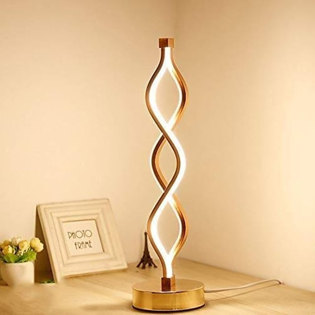 Table Lamp / Desk Lamp Decorative Simple / Modern Contemporary LED power supply For Study Room / Office / Kids Room Aluminum 220-240V Gold / White / CE Certified