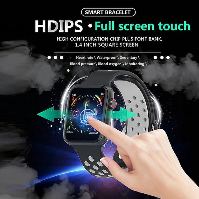 KW22 Smartwatch BT Fitness Tracker支持Notify /心率监测器/血压测量防水智能手表,适用于Samsung / Iphone / Android手机