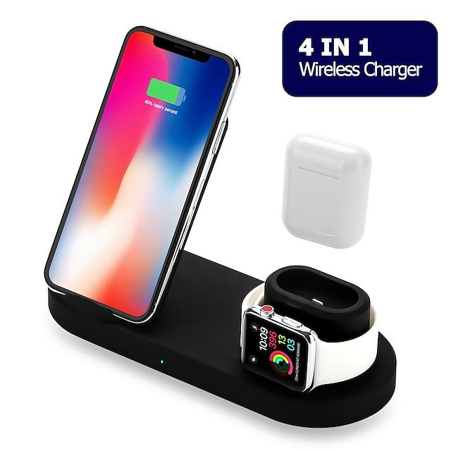 Chargeur Sans Fil Chargeur USB USB 5 A DC 9V / DC 5V pour Apple Watch Series 4 / Apple Watch Series 3 / Apple Watch Series 2 iPhone 11 / iPhone 11 Pro / iPhone 11 Pro Max