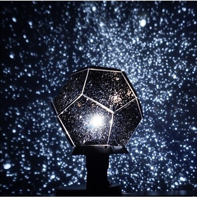 Galaxie Univers Lampe Ciel Etoilé Eclairage LED Jouets Lumineux Lampe Constellation Projecteur étoile A Faire Soi-Même Enfants Adultes pour des cadeaux d'anniversaire et des cadeaux