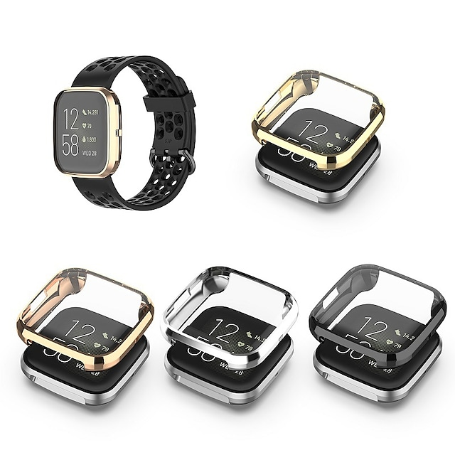Fall mit Band Für Fitbit Fitbit umgekehrt 2 TPU Displayschutzfolie Smartwatch Hülle Kompatibilität