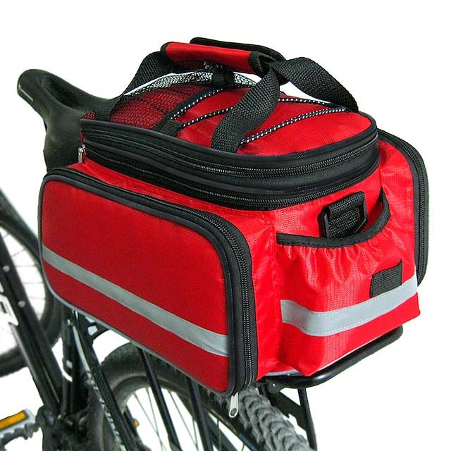 FJQXZ Bike Panniers Bag Bike Rack Bag Large Capacity Waterproof Quick Dry Bike Bag Nylon Bicycle Bag Cycle Bag Cycling / Bike