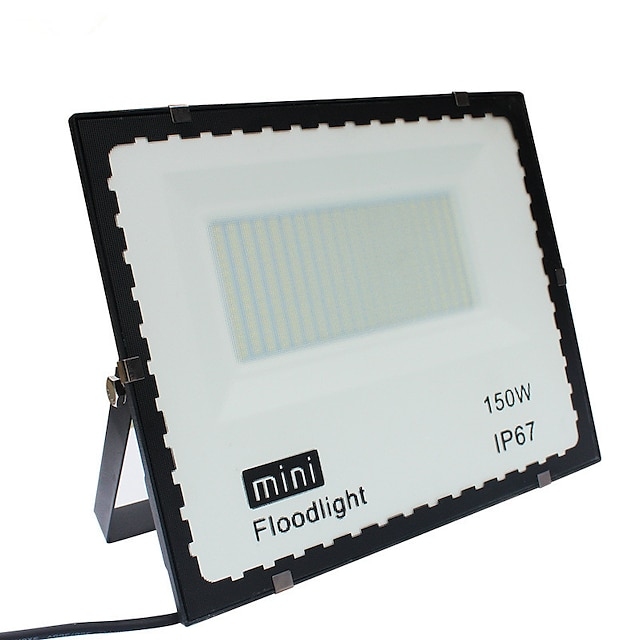 1pc 150 W LED Floodlight Lawn Lights Outdoor Wall Lights Waterproof White 85-265 V Outdoor Lighting Courtyard Garden 1 LED Beads