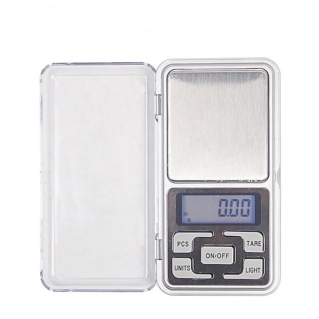 Monkeyjack 0.01g-200g gramme mini numérique lcd balance poids poche jolie diamant échelle