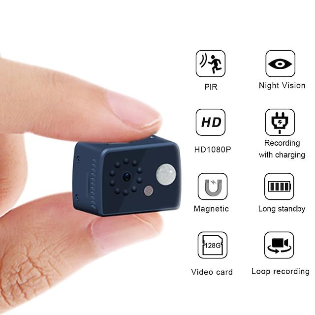 1080P HD Mini Camera 2 mp Motion Detection PIR Camera Night Vision DVR Camcorder Sport Small Camera DV Video Human Body Inductive Camera