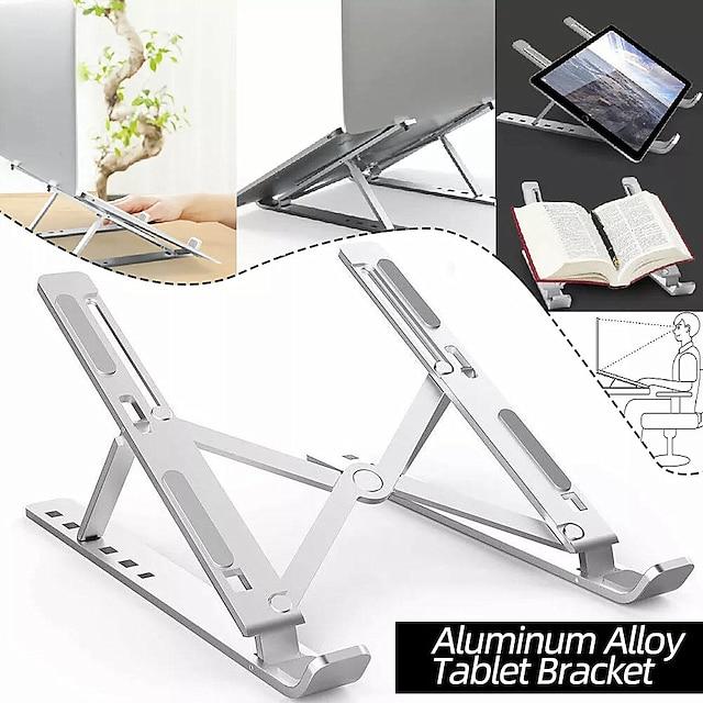 Aluminum Alloy Tablet Bracket Mount Foldable Portable Laptop Stand