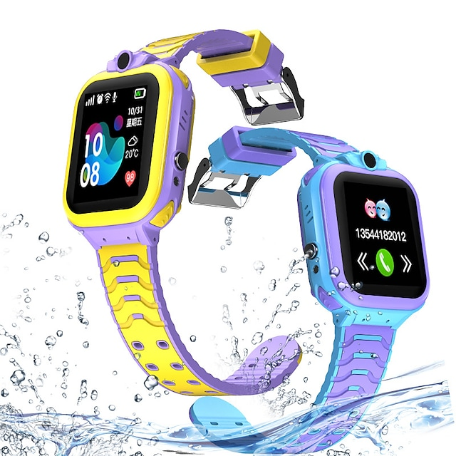 Indear T16 Kids' Watches 2G 1.44 inch Screen IPX-5 GPS Hands-Free Calls with Camera Call Reminder Activity Tracker Find My Device for Android iOS Samsung Xiaomi Apple Kids / Alarm Clock / Gyro Sensor