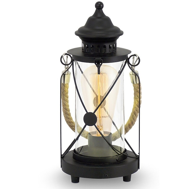מנורת שולחן / מנורת שולחן עבודה עיצוב חדש מסורתי / קלסי עבור חדר שינה / משרד מתכת 110-120V / 220-240V