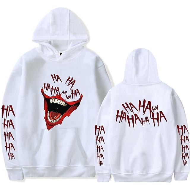 Inspired by Joker Joker Cosplay Costume Hoodie Polyster Print Printing T-shirt For Women's / Men's