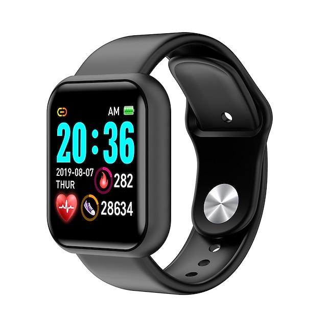 L18 unisex smartwatch ฟิตเนสนาฬิกาสำหรับวิ่ง บลูทูธ heart rate monitor การวัดความดันโลหิต การติดตามระยะทาง ข้อมูล การควบคุมกล้อง pedometer ตัวเตือนการโทร ตัวติดตามกิจกรรม ตัวติดตามการนอนหลับ