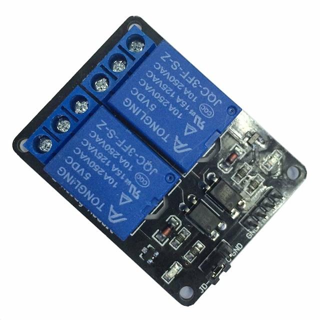 5v 2kanalni relejni modul s opto-spojnikom za arduino pic avr dsp krak