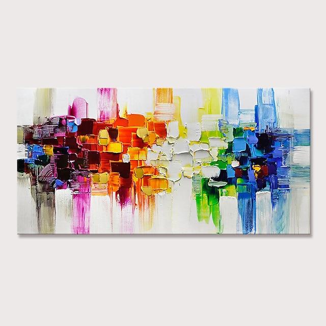 ulje na platnu ručno rađeni ručno oslikani zid umjetnost vodoravni apstraktni ukras za dom ukras razvučeni okvir spreman za vješanje