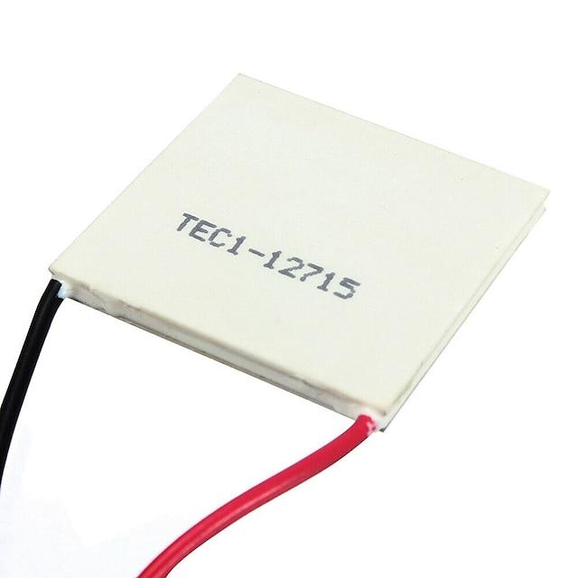 40*40mm TEC1-12715 Heatsink Thermoelectric Cooler Cooling Peltier Plate Module