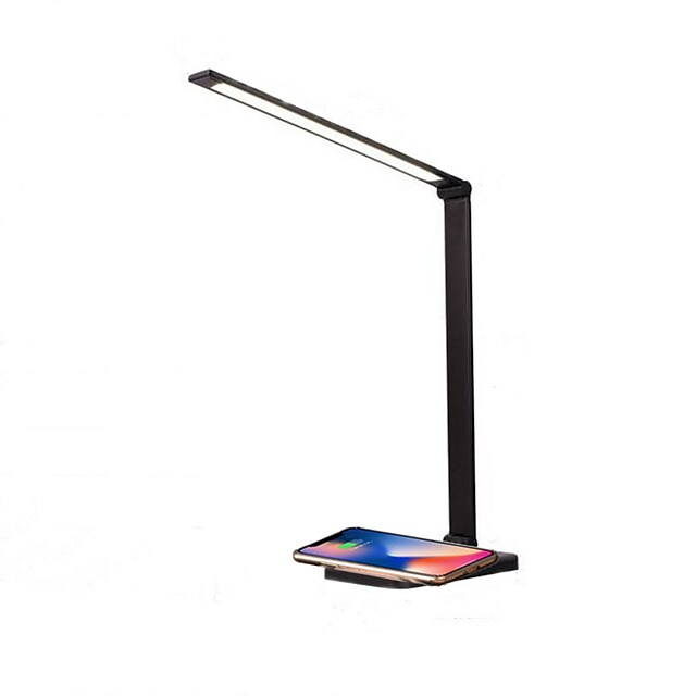 Desk Lamp Rechargeable / Multi-shade / Smart Home Modern Contemporary DC Powered USB Powered For Study Room / Office Aluminum DC 5V Black